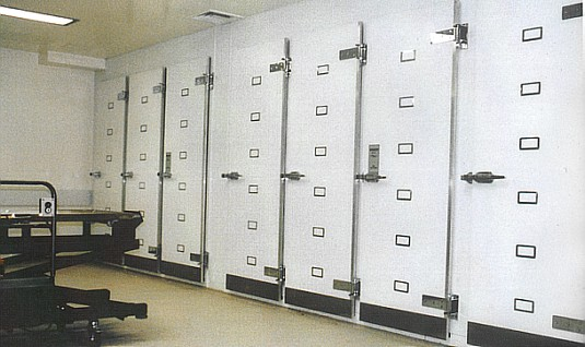 Multiple Mortuary Chamber Installation