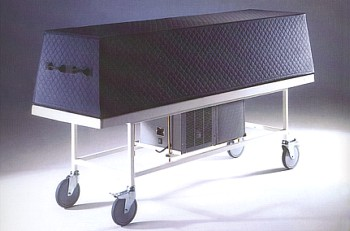 Single Body Refrigerated Trolley with Cover